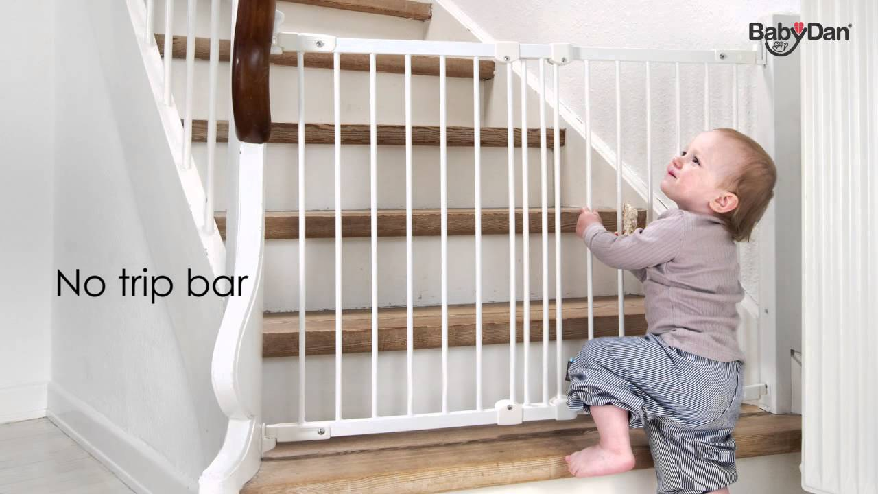 flexi fit metal safety gate from baby dan  youtube -