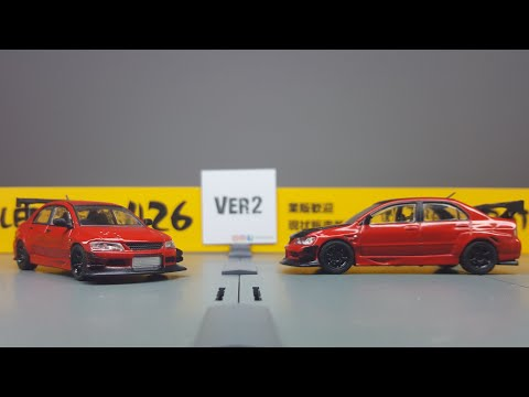 FirstLook 1/64 CM Model Mitsubishi Evo IX Voltex Kit