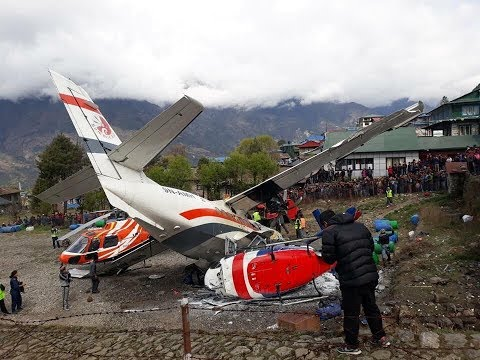 Summit Air crashes in Lukla