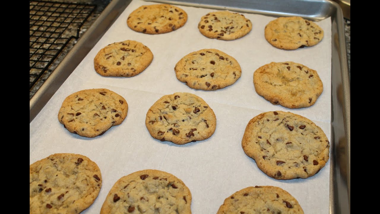 Substitute Crisco For Butter In Chocolate Chip Cookies