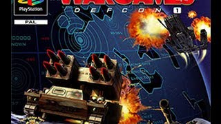 [PSX] WarGames : Defcon 1 - W.O.P.R. Complete Gameplay