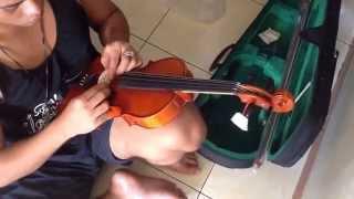 Cara seting biola baru By sentana music
