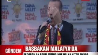 Başbakan Recep Tayyip Erdoğan Ak Parti Malatya Mitingi FULL KALİTE 06.03.2014