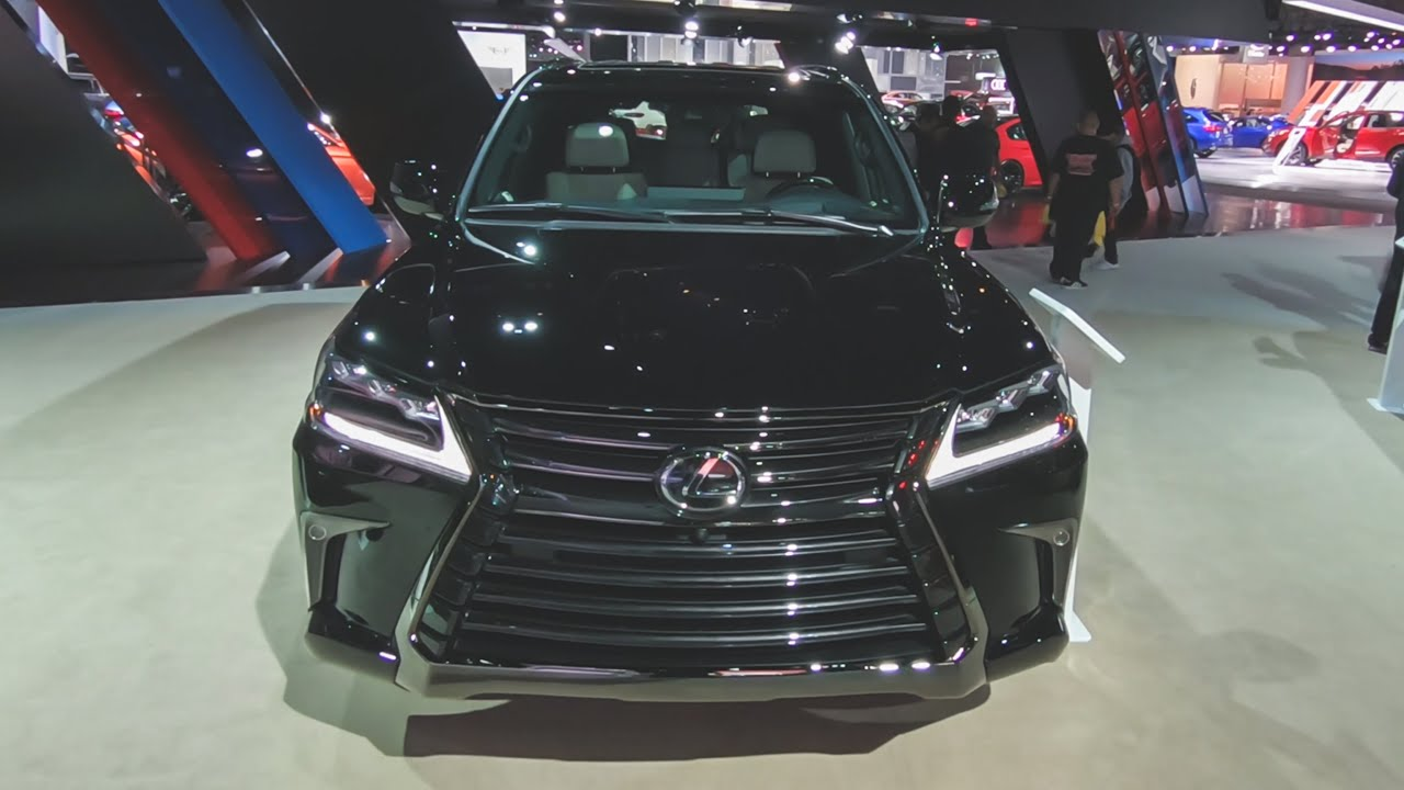 2019 Lexus Lx 570 Inspiration Series Pov Walkaround Exterior Interior 2018 La Auto Show