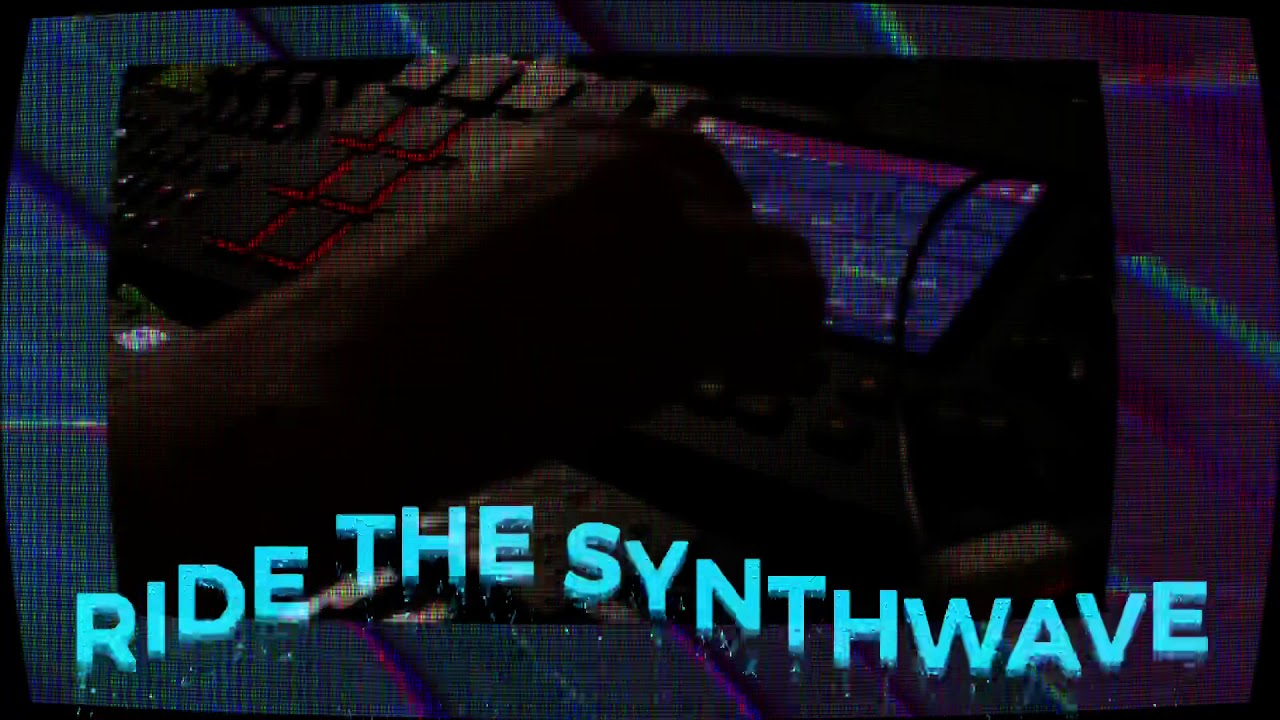 SYNTHWAVE on the MPC Live with its onboard synths : synthesizers