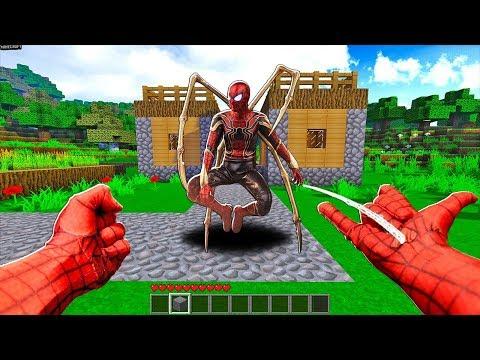 SlenderMan - CUỘC SỐNG CỦA SPIDER-MAN(NGƯỜI NHỆN) TRONG MINECRAFT thumbnail