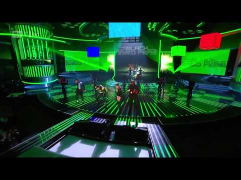 Black Eyed Peas - The Time Live X-Factor [HD] 1080