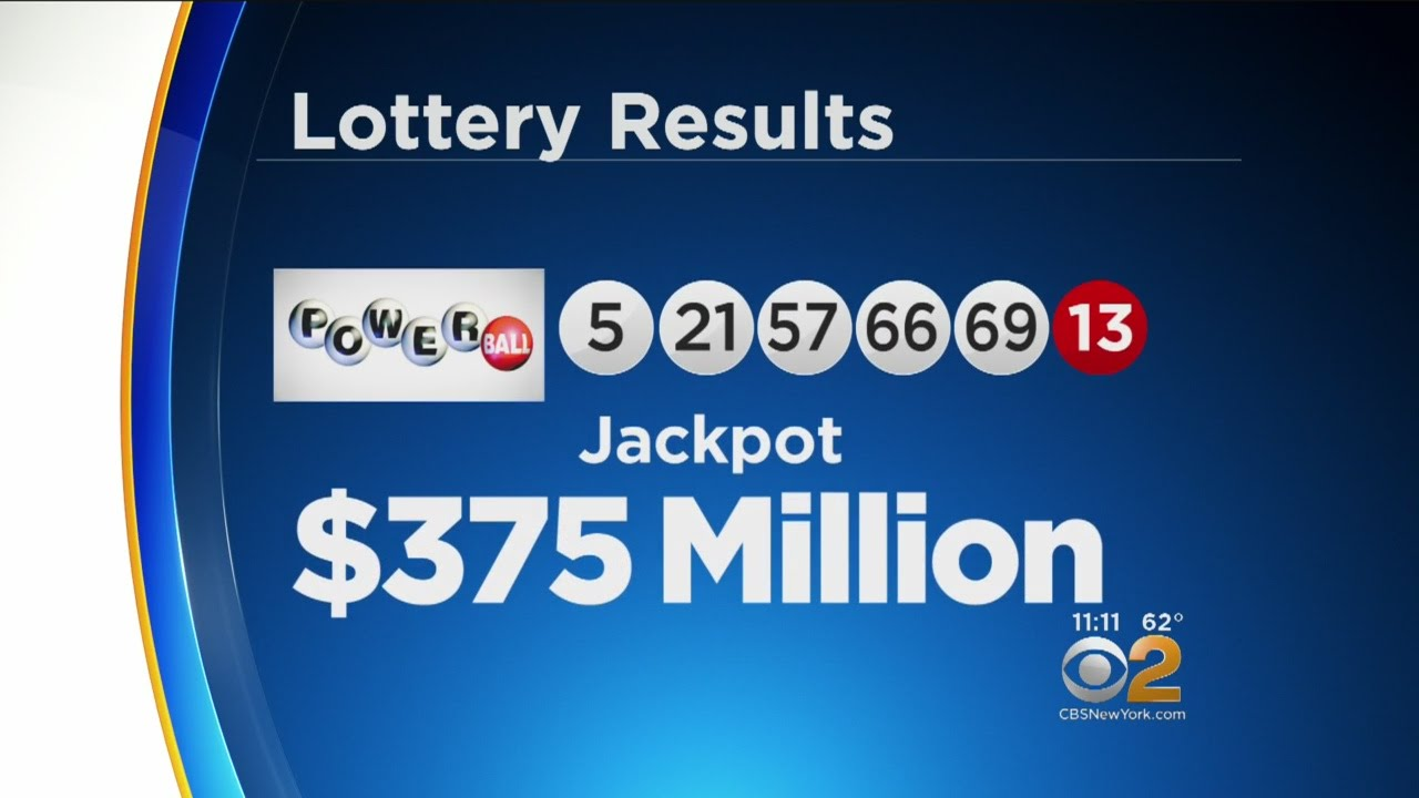 Tonight's Powerball Numbers Are In