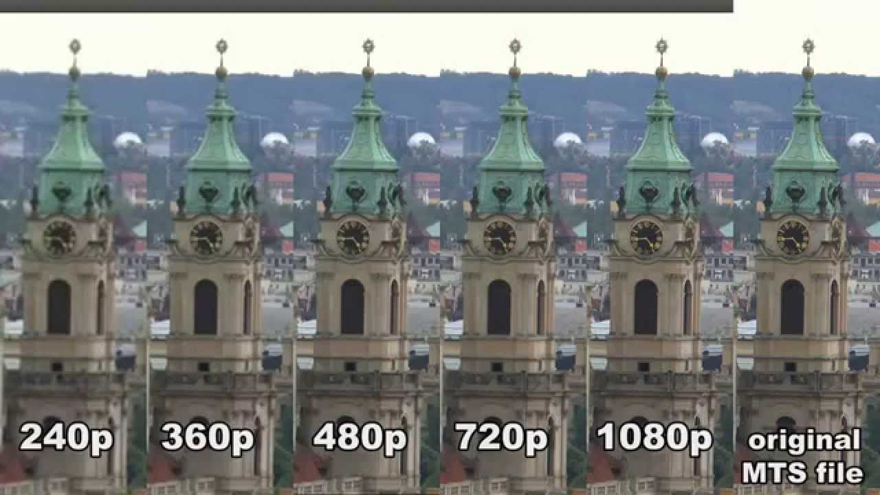 1080P Quality Porn comparison of quality settings on youtube 240p 360p 480p