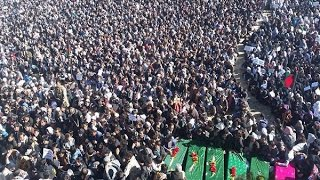Bodies of Zabul Seven Being Moved Back To Ghazni For Burial