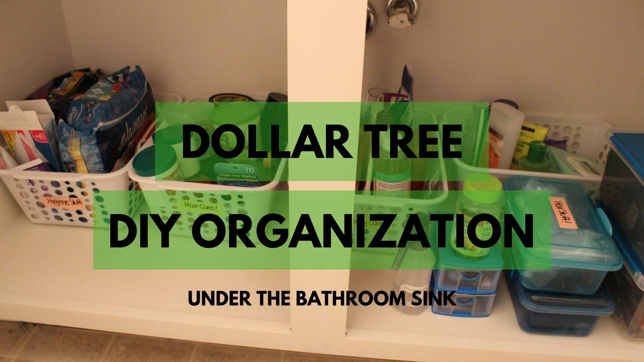 Diy bathroom organization - Dollar Tree Bathroom Organization Diy