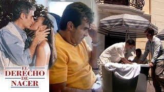 El derecho de nacer - Capítulo 7: ¡Alfredo escapa y abandona a María Elena! | Televisa
