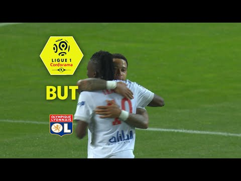 But Bertrand TRAORE (77') / Dijon FCO - Olympique Lyonnais (2-5)  (DFCO-OL)/ 2017-18