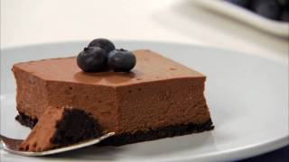 philadelphia double chocolate cheesecake