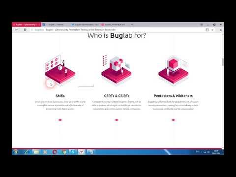 Buglab - проникновение в кибербезопасность, тестирование на Ethereum блокчейн