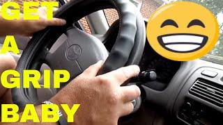 Easy Steering Wheel Cover Install