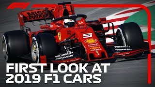 First Look At 2019 F1 Cars On Track | F1 Testing 2019