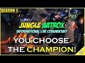 Jungle Aatrox Commentary Platinum YOU CHOOSE THE CHAMPION 1 League Of Legends Season 5 mp3