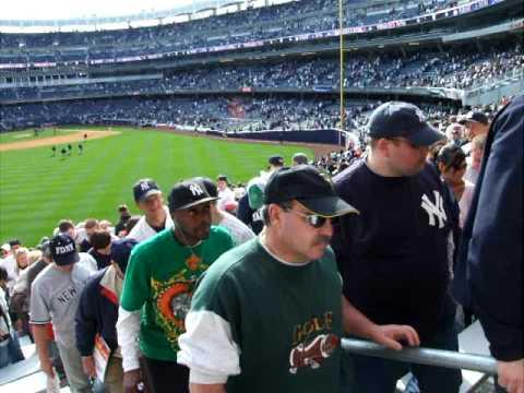 Yankees New Stadium  Frank Sinatra Finale 9th inning