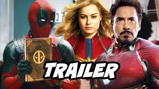 Once Upon A Deadpool Trailer 2 - Deadpool Makes Fun of Avengers and Disney