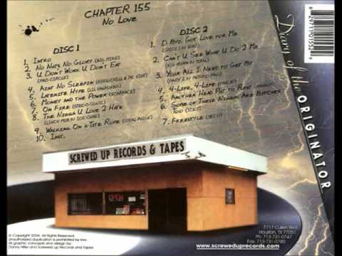 DJ Screw - No Love (Disk 1 & 2)