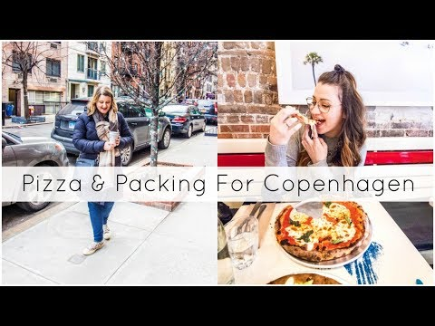 Pizza, $20 Ice Cream & Packing For Copenhagen