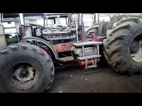 Самодельный трактор БИЗОН напродажу.