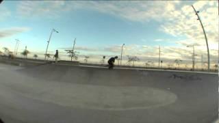 Xico Basabe 30 minutos en skatepark del Forum