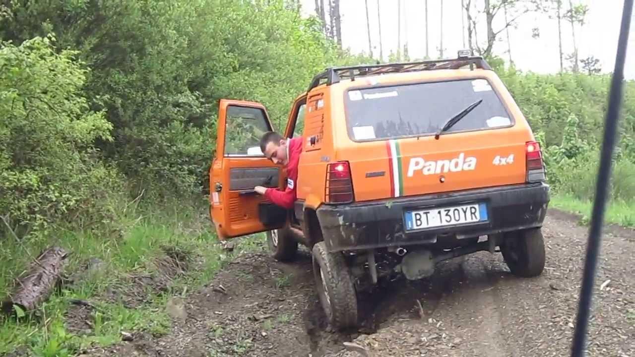 Pandanauti panda 4x4 blocchi differenziale amiata 2013 for Panda 4x4 sisley off road