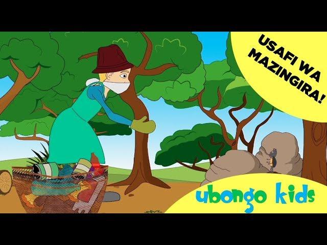 Ubongo Kids Webisode 42 - Usafi wa Mazingira | Katuni za Kiswahili