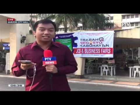 Update sa job fair sa Quezon City Hall