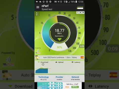 4g vs 3g vs 2g speed test mobilis