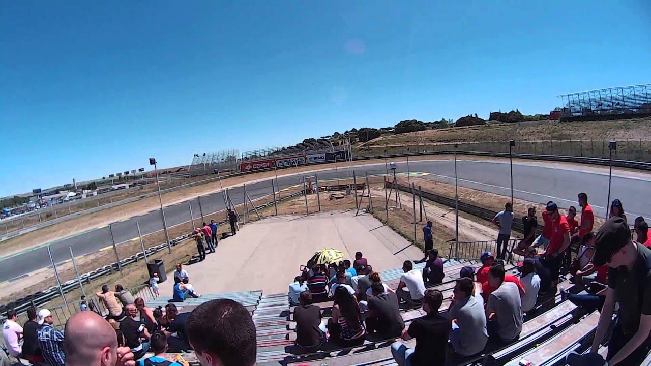 Circuito Jarama : Cuadro en lienzo circuito de jarama madrid u ac