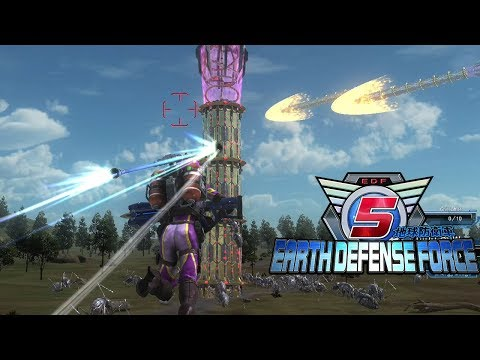 Bug Spewing Towers! - Earth Defense Force 5 #2 thumbnail