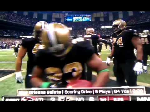 Pierre Thomas Touchdown MNF Christmas Gift