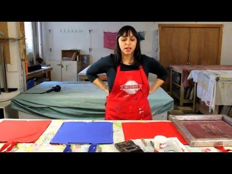 Screenprinting on Fabric