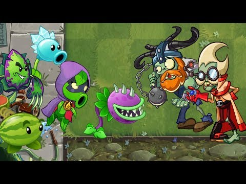 Heroes in pvz 2 part 4 Plants vs Zombies 2 Cartoon ANIMATION