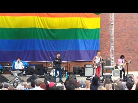 A Great Big World--Everyone is Gay--Boston Pride