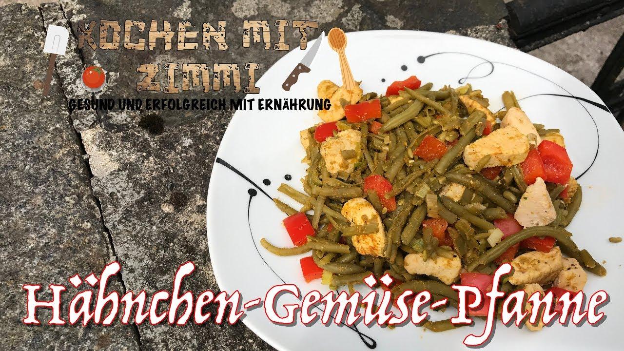 Diat Rezept Hahnchen Gemuse Pfanne Low Carb Youtube
