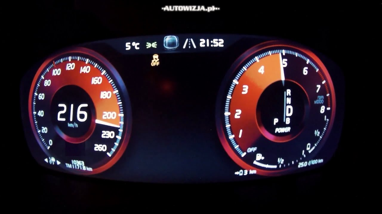 Volvo Xc90 T8 Polestar Acceleration 0 100 Km H 200 Top Sd Racelogic