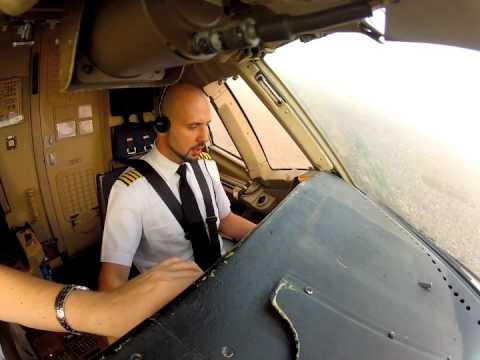 HD Cockpit B767 Takeoff & Landing scenes