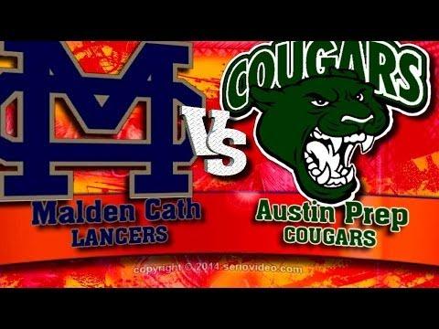 14   Hockey Highlights   Super 8 Championship  Malden Catholic vs Austin Prep