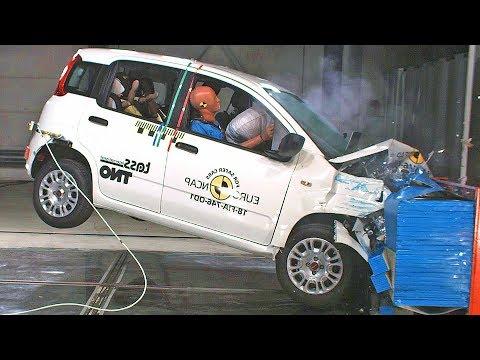 FIAT PANDA (2018) Scores 0 Stars in the Crash Test 😱