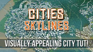 Cities: Skylines - Aesthetic City Road Guide!
