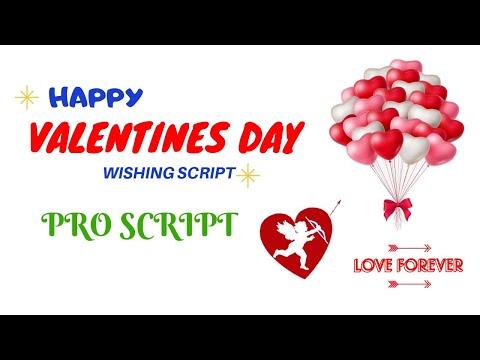 Valentines Day WhatsApp Wishing Script For Blogger || Pro Script
