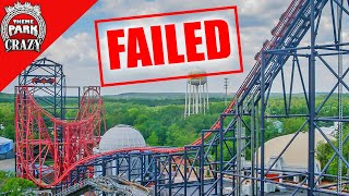 Failed Roller Coasters: Batman & Robin: The Chiller at Six Flags Great Adventure (Ep. 2)