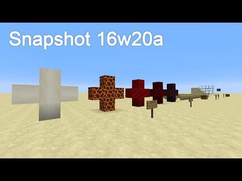 Minecraft Snapshot 16w20a (Swedish)