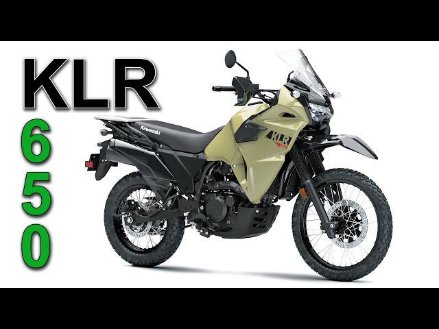 2021/2022 Kawasaki KLR650 Updates - Still all about VALUE