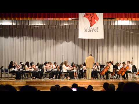 Lasalle Intermediate Academy Orchestra Performs Happy 2015