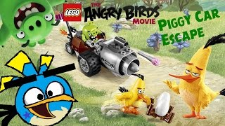 LEGO The Angry Birds Movie Piggy Car Escape review